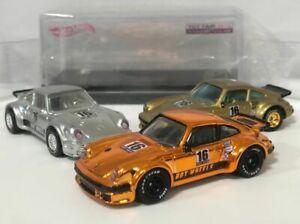 Custom Hot Wheels TOY FAIR Porsche 934 Turbo RSR, Rose Gold, Gold & Silver