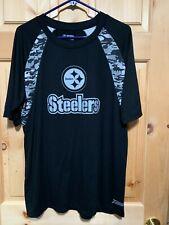Steelers Football T Shirt NFL Team Apparel sz M