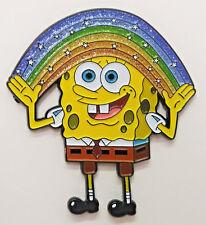"Sponge Bob Square Pants - Makin' Rainbows 2"" Cloisonne Metal Pin - SBSPPI-01"
