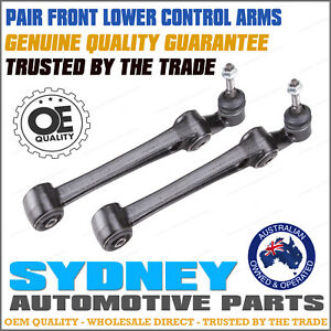 Front Lower Control Arms for Ford Territory TX SX 2WD AW Ball Joint+Bushes 04-09