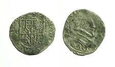 pcc1642_9) Savoia  Carlo Emanuele I (1580 -1630) Soldo  1595 Chambery Busto a d.