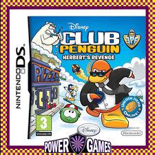 Disney Club Penguin Herbert's Revenge (Nintendo NDS DS lite Dsi XL) Brand New