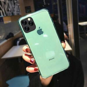 Coque Silicone Gel iPhone 11 1Pro 12 Pro Max SE 2020 XR X XS MAX 8 7 6 Plus