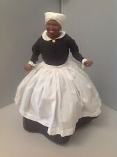 Franklin Mint Mammy Gone With The Wind Porcelain Doll With Stand