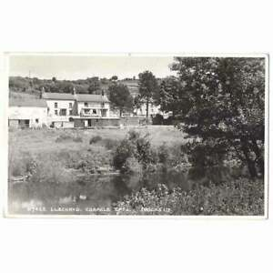 LLECHRYD Cardiganshire The Coracle Cafe RP Postcard, Postmarked 1960