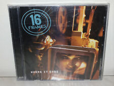 CD 16 FRAMES - WHERE IT ENDS - NUOVO NEW