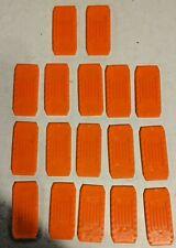 Lot of 17 Orange Hot Wheels Track Connectors