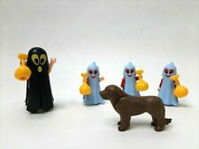 Vintage Playmobil Halloween Trick or Treat Ghosts Kids Dad & Dog Custom Toy Set