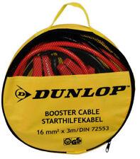 Dunlop KFZ PKW Starthilfekabel Überbrückungskabel Starterkabel Kabel 16 mm2 x 3M