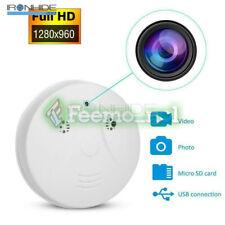 Mini Spion Kamera versteckter Rauchmelder Bewegungserkennung Cam DVR HD 1080P