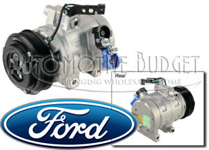 A/C Compressor w/Clutch for Ford Focus & Transit Connect - NEW OEM