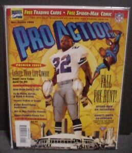 PRO ACTION MAGAZINE Vol. 2 #1 1994 Marvel Comics NEW NM/M  - Hard to find