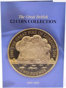 NEW 2021 £2 Coin Album 5th Edition Great GB Coin Hunt Two Pound Collectors