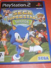 SEGA Superstars Tennis PS2 Complet de sa notice