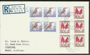 SOUTH AFRICA 1965 INTERNAL REG COVER MOBILE PO