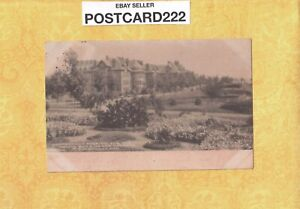 CT Middletown 1905 antique postcard HOSPITAL FOR THE INSANE building & gardens