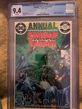Swamp Thing Annual #2 Cgc 9.4 NM Dc Comics (1985)
