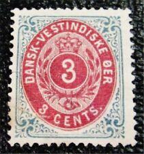 nystamps US DWI Denmark Stamp # 6 Mint OG H $28 Signed