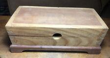 Handmade Wooden Trinket/Jewelry Box With Dove Tail Corners