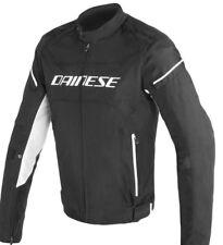 Saldi Dainese D-Frame Tex giacca moto nera-nera-bianco 1735191-948