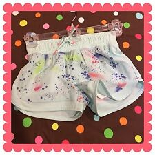 EUC Cat and Jack Paint Splatter Running Shorts size 4/5, these are adorable!