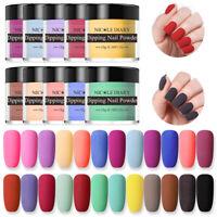 NICOLE DIARY 10g Dipping Nail Powder Matte Natural Dry Long Lasting 24 Colors
