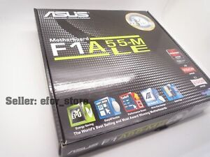 *BRAND NEW ASUS F1A55-M LE Socket FM1 Motherboard AMD A55