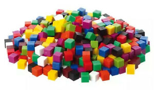Counting Centimetre Cubes 1cm coloured maths volume Learning resources 30-1000