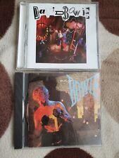David Bowie 2 Cd albums Let's Dance Never Let Me Down 80s Pop Rock classics