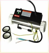 LX H20-R1 2KW Flow Type Spa Heater I Type Straight Through Hot Tub Heater Tube