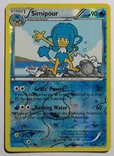 Simipour REV HOLO - 23/98 BW Emerging Powers - Rare Pokemon Card