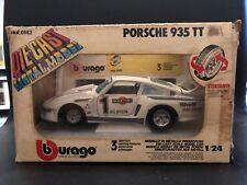 1:24 B BURAGO made In Italy PORSCHE 935 TT Die Cast Metal Model like martoys 2