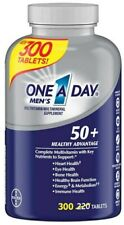 One a Day Men's 50+ Advantage Multivitamins - 300 Tablets, Exp 11/21