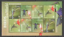 I757 2019 EXCLUSIVE RAROTONGA FAUNA BIRDS HUMMINGBIRDS SH !!! NOMINAL 84 $ MNH