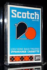 Scotch Dynarange C 120 de 1970 Oldtimer tipo I mc cintas de audio tape cassettes