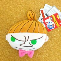 Moomin Retractable Reel ID Card Pass Holder Little My Cute Pass Case Gift