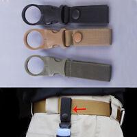 3 Stk Militär Taktische Wasser flasche Karabiner Haken Schnalle Gurtband Gürtel