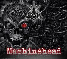 "CAN-AM 2013-14 OUTLANDER XMR & MAX ""MACHINEHEAD"" RED DECALS GRPAHICS KIT PARTIAL"