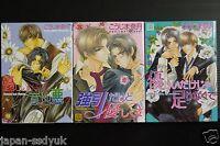 JAPAN Naduki Koujima manga: Yasashii Keredo series vol.1~3 Set