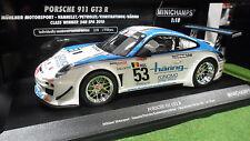 PORSCHE 911 GT3 R #53 SPA 2010 au 1/18 MINICHAMPS 151108953 voiture miniature