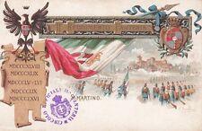 A1446) SALERNO, 11 REGGIMENTO FANTERIA BRIGATA CASALE, BATTAGLIA DI SAN MARTINO.