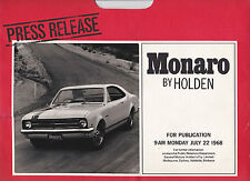 Complete  collection on USB of Holden TORANA and MONARO sales brochures