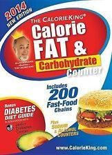 Allan Borushek's Calorie Fat & Carbohydrate Counter: 2014 NEW BOOK
