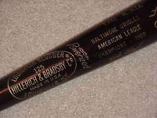 1969 Baltimore Orioles World Series Black Bat Brooks Frank Robinson