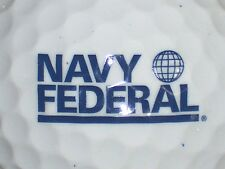 (1) NAVY UNITED STATES MILITARY LOGO GOLF BALL  NAVY FEDERAL