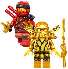 NINJAGO MINIFIGURES TOYS SETS NINJA GOLD LLOYD KAI SPINJITZU MASTER LEGO minifig