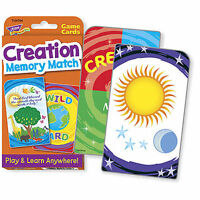 TREND kids childrens Creation Memory Match Challenge Card RE educational Game