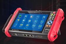 7 Inch IP CCTV Tester Monitor Analog Camera Tester ONVIF 4MP 2MP WIFI POE 12V2A