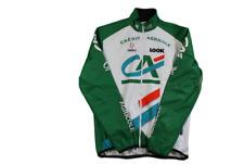 Veste cyclisme vintage Nalini Crédit Agricole Look