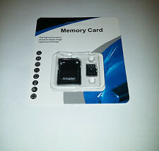 64GB microSD SDXC HC Flash TF Memory Card Class 10 Micro SD FREE SD Adapter NEW